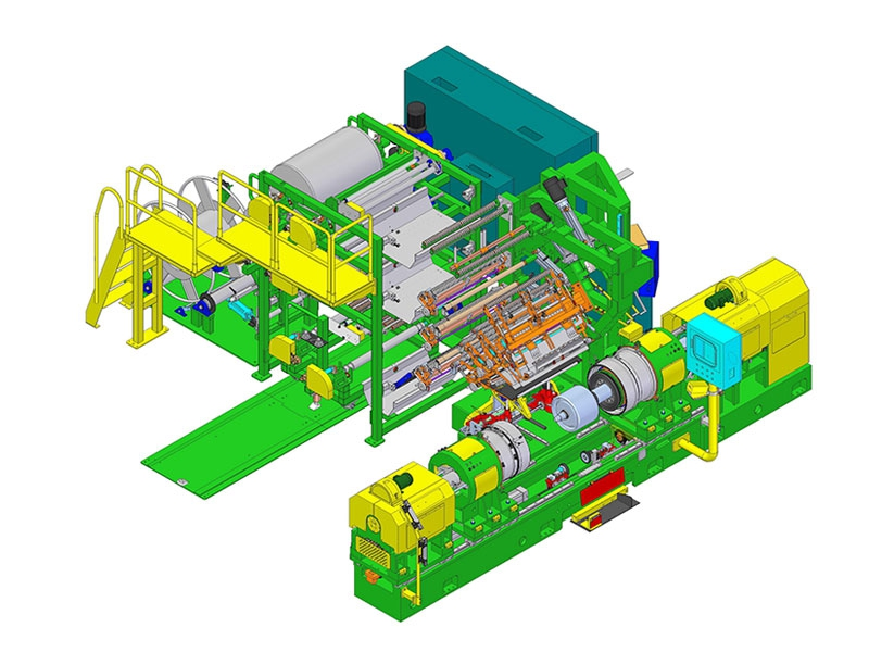 SMI-AK第一階段成型機